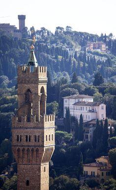 Tower of the Palazzo ~ Florence, Italy via Condé Nast Traveler