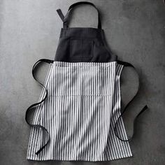 cute black and white apron! #apronology #sewing #kitchen #aprons #ad