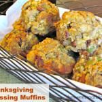 The beauty of cooking the Thanksgiving dressing muffins in muffin tins is that the outsides are nice and crispy, while the insides remain moist and chewy! Thanksgiving Recipes, Fall Recipes, Holiday Recipes, Great Recipes, Favorite Recipes, Holiday Meals, Christmas Recipes, Stuffing Recipes, Turkey Recipes