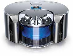 Dyson - 360 Eye Robot Vacuum - Blue/nickel - Front Zoom