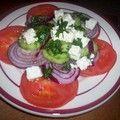 salade marocaine - Autour d'un plat