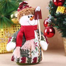 Mesa de natal boneco de neve / alces / papai noel de natal de decoração interior frete grátis(China (Mainland))