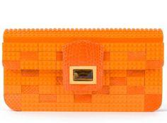 Lego clutch bag.