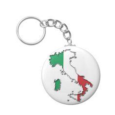 Map of Italy Keychain #Italy #Map #Keychain