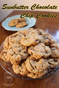 SunButter Chocolate Chip Cookies