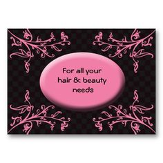 Hair salon business cards business cards salons and business colourmoves