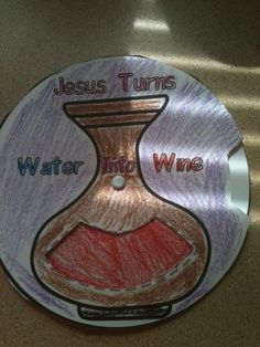 Jesus Turns Water into wine Craft for Sunday.. - CafeMom Mobile