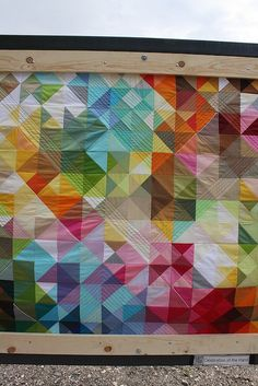 IMG_2452 by The Artists' House, via Flickr / / I really like the quilting on this one