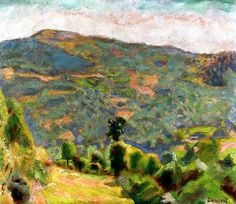 Landscape of Haute-Savoie / Pierre Bonnard - 1918