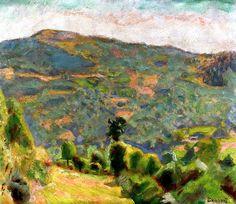 Landscape of Haute-Savoie Pierre Bonnard - 1918