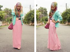 Malaysian hijabi fashion blog