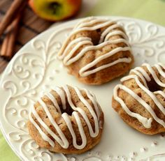 Salted Caramel Apple Mini Bundt Cakes | Baking Bites