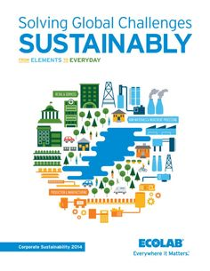 Ecolab Releases 2014 Corporate Sustainability Report | 3BL Media