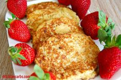 Coconut pancakes are a little treat for my children sometime. They are wheat free, gluten free and lower in carbs than regular pancakes.