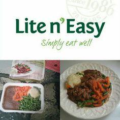 Lite N' Easy Dinner Beef in Red Wine & Mushroom Sauce