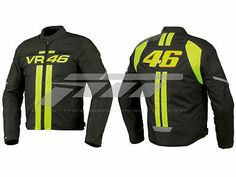 Motor Bike Racing VR-46 Leather Jacket.. A brand-new, unused, and unworn item (including handmade items) in the original packaging…........ Gender:Men's…..................... Material:Leather ...… Size:S,M,L,XL,2XL,3XL…............. Colour: same as picture..........…........ Protection:Back-shoulders-elbow.,..…  Price : $ 139.00
