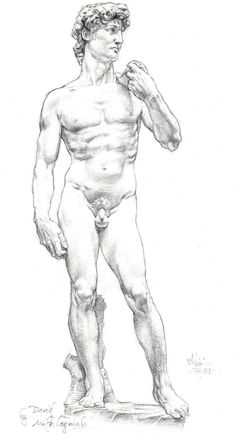 AFTER MICHELANGELO THE DAVID by AbdonJRomero on DeviantArt