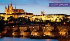 Groupon - ✈ 8-Day Budapest and Prague Vacation with Round-Trip Airfare from Gate 1 Travel. Price/Person Based on Double Occupancy. in Budapest and Prague. Groupon deal price: $999