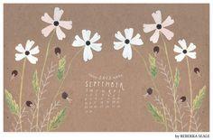 Free September 2013 Desktop Wallpaper Calendars