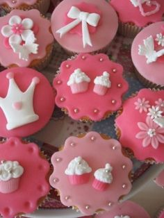 Princess In Pink cupcakes-izzy has chosen these! Sorry boys :)