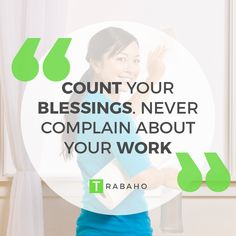 Count your Blessings. Never complain about your work #Trabaho #OFW #Jordan #Kabayan #Work #Blessings #Patience