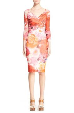 Fuzzi Floral Print Tulle Dress available at #Nordstrom