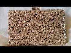 CLUTCH Tutorial passo passo - Crochet | сумки | Postila