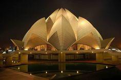 Lotus Temple, Inde