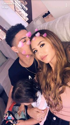 Austin and Catherine and Elle The Ace Family Catherine, Austin And Catherine, Cute Family, Family Goals, Couple Goals, Catherine Paiz, The Ace Family Youtube, Ace Family Wallpaper, Cute Couples Goals