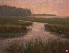 Moonlight Bay Memory by Kami Mendlik Oil ~ 11 x 14