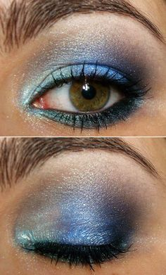 Blue is my fav color and I could probably do this