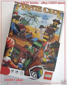 Lego Game 3840 Pirate Code New SEALED Set 3840 Board Games 673419131155 | eBay....$22.95