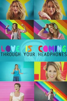 Britt Nicole Headphones - I don't know the song but I like Britt Nicole's music...