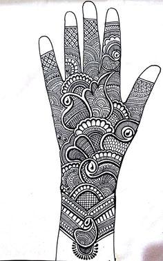 Pretty Henna Designs, Beginner Henna Designs, Back Hand Mehndi Designs, Latest Bridal Mehndi Designs, Legs Mehndi Design, Full Hand Mehndi Designs, Henna Art Designs, Mehndi Designs 2018, Mehndi Designs For Girls