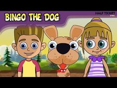 #Kids, lets play with #BingoTheDog! This fun #nurseryrhyme will brighten your day :-)