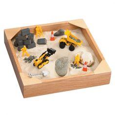 Indoor mini tabletop sandbox.