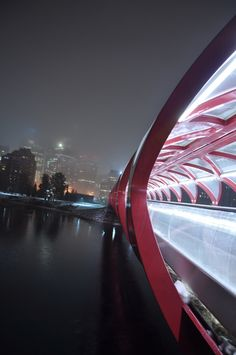 peace bridge calgary by Dan Albano