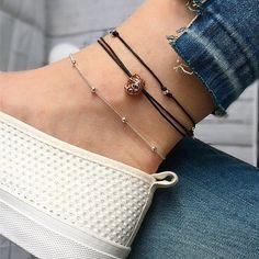Elephant anklet ankle bracelet silver anklet gold anklet