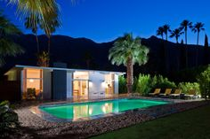 Editorial Styling of 1959 built Alexander House in Palm Springs