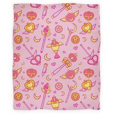 Absolute Sailor Moon Blanket | Blankets, Fleece Blankets and Throws | HUMAN