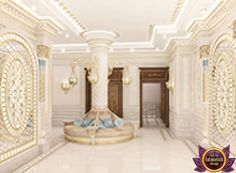 Дизайн Холла in Dubai, Elegant Entrance Interior, Photo 1