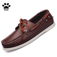 MEE Men s Top Genuine Suede Leather Driving Shoes,New Fashion Comfortable  Casual Shoes,Brand 6b2327f480d