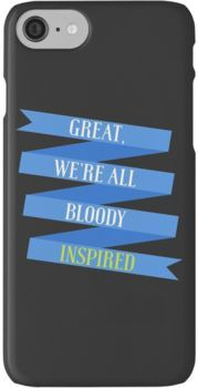 We're All Bloody Inspired iPhone 7 Cases
