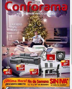 Conforama Ofertas de Muebles y Electro por Navidad 2014
