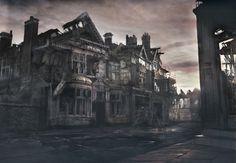 James Chadderton | Apocalype style digital imagery | Beech Road, Chorlton