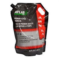 Atlas 490-000-B034 1.4 L SAE 30 Premium 4-Cycle Engine Oil