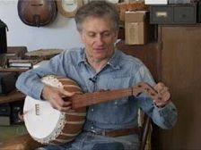 Mike Seeger  gourd banjo