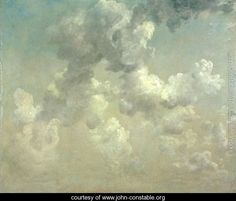 Study of Clouds - John Constable -20 x 24