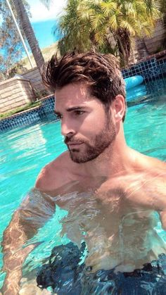 Uploaded by ETM. Find images and videos about nick bateman on We Heart It - the app to get lost in what you love. Nick Bateman, Beautiful Men Faces, Gorgeous Men, Beard Styles For Men, Men Photography, Bearded Men, Hairy Men, Male Face, Attractive Men