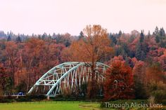 Snoqualmie Valley Bridge in Duvall Washington by Through Alicia's Lens on Etsy